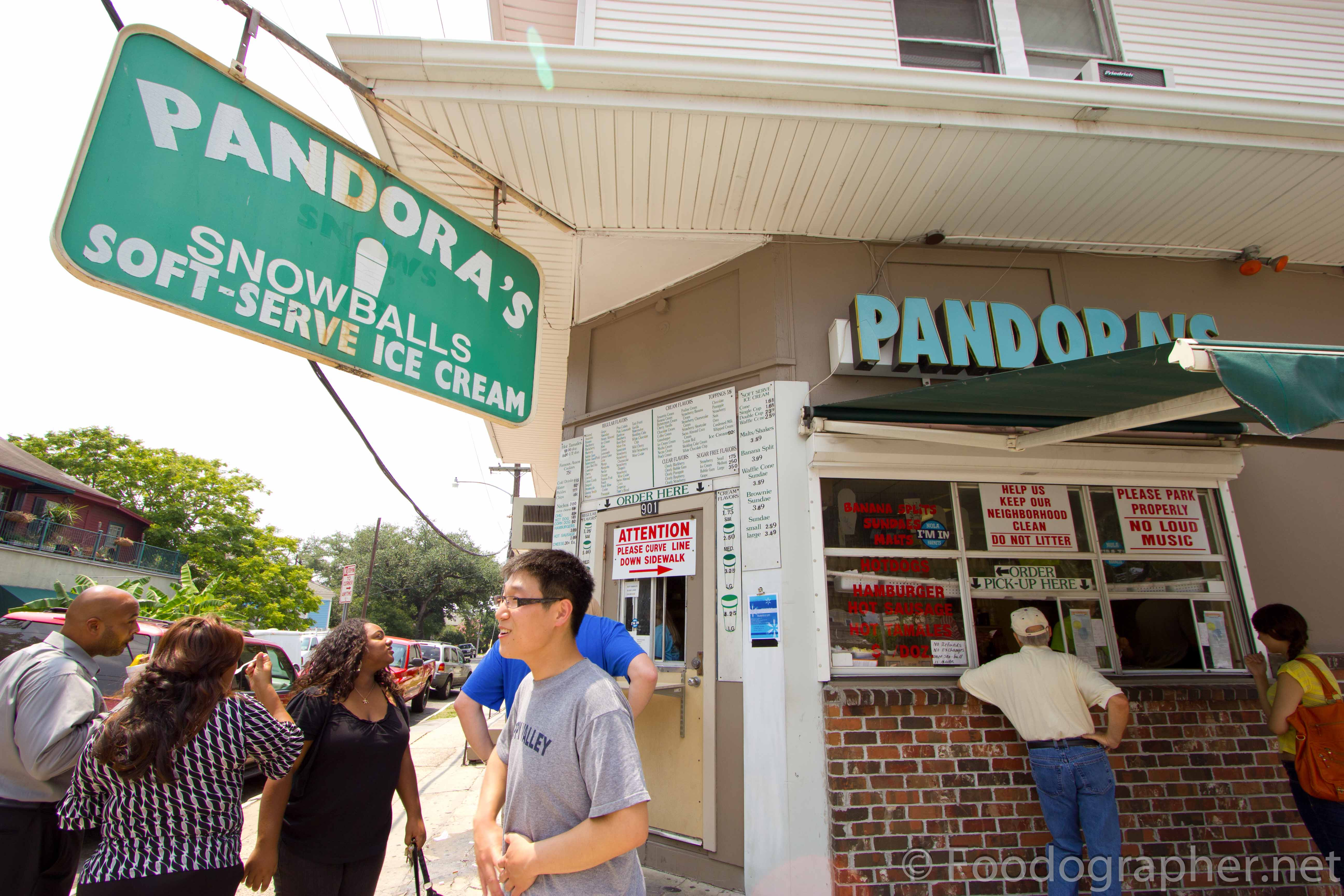 Pandora Snowball in New Orleans, LA | The Foodographer